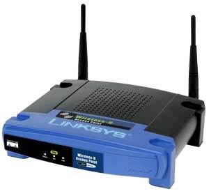 MENGINSTALASI PERANGKAT JARINGAN BERBASIS LUAS (WAN) Linksys-wireless-access-point